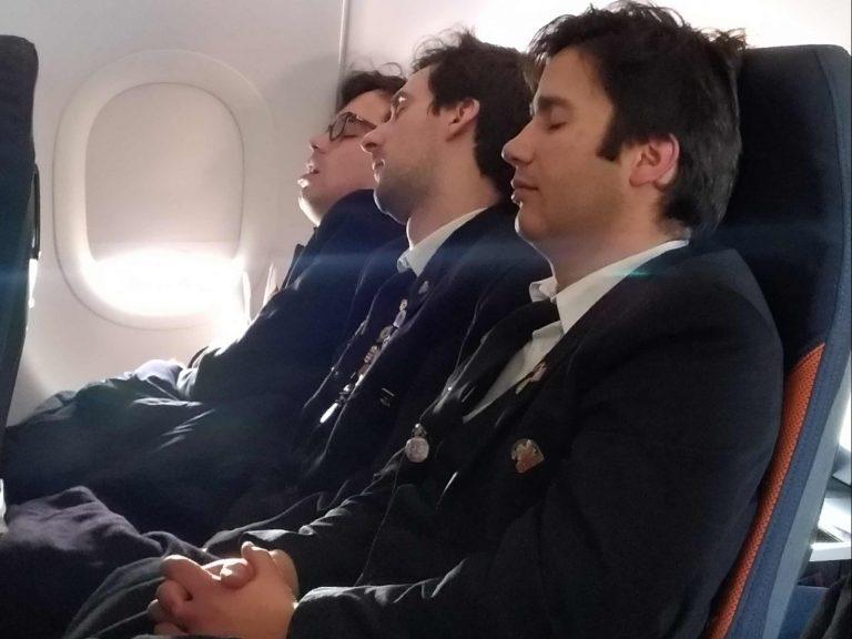 viagem de avião da Partituna para Praga na República Checa